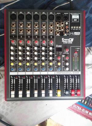 Mezclador pro DJ