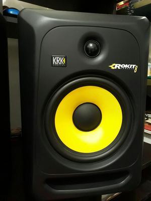 Monitores de Estudio Krk Rockit 8 3a Gen