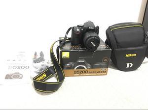 Nikon D Lente Vrll  Como Nueva