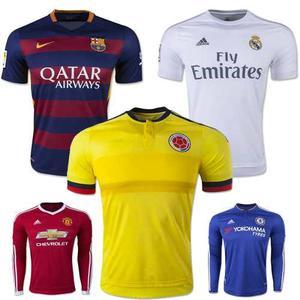 Promocion camisetas barcelona real madrid colombia y mas e8519b125e4