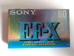 Remate De Cassettes Sony Japones Originales Nuevos Sellados