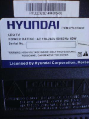 Se Vende Tv de 32 Marca Hyunday