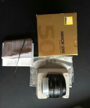Vendo O Cambio Lente Nikon 50 Mm 1.8