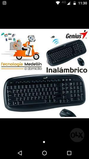 Combo Genius Mouse Y Teclado