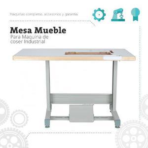 Mesa Mueble Para Maquina De Coser Industrial