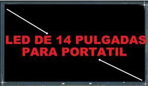 PANTALLA LED DE 14 PULGADAS PARA PORTATIL