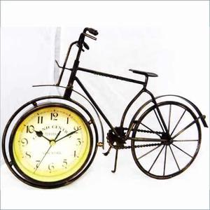 Reloj Bicicleta Estilo Antiguo Tipo Escritorio Decoración