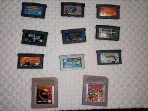 11 Juegos Para Gameboy Advance