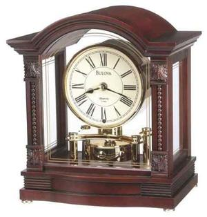 Bulova B Reloj Bardwell, Acabado De Nogal Antiguo