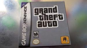 Juego De Gameboy Advance Genérico Con Caja,grand Theft
