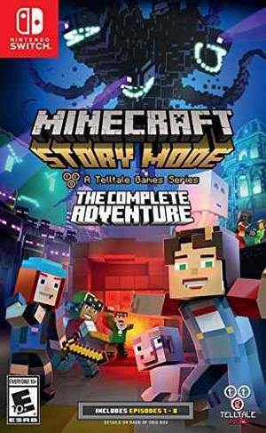 Minecraft Story Mode - La Aventura Completa - Nintendo Swit