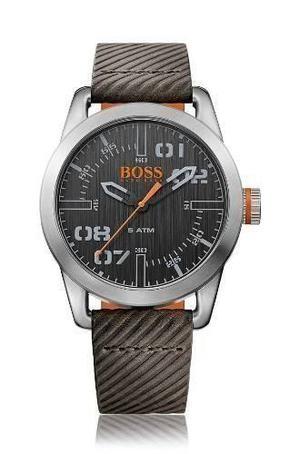 Reloj Hugo Boss  Cuero Gris Hombre
