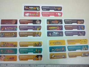 Stickers Personalizados Para Gameboy Advance