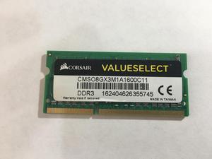 MEMORIA RAM DDR3 CORSAIR 8GB