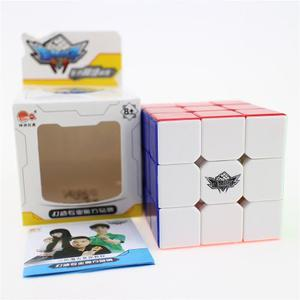 Cubo Rubik 3x3 Original Mar Cyclone Boys - Speed Cube + Base