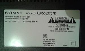 Vendo Sony Bravia Xbr-55x707d Para Repuestos