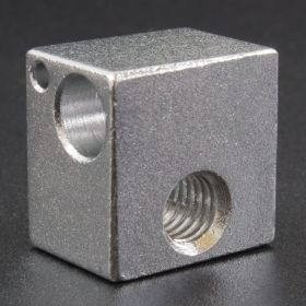 Bloque De Aluminio Para Extrusor mm