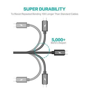 Cable Data Tiergrade Set De 6 Micro Usb  Mts