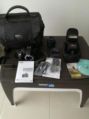 Camara Nikon D Lente  Y Flash