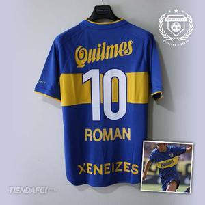 Camiseta Retro Boca Juniors Roman Riquelme Quilmes Nike