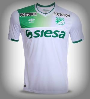 Camiseta Umbro M/c Blanca Deportivo Cali