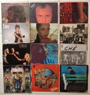 Lp, Vinilo, Acetato, musica americana variada de los 80,