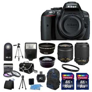 Nuevo Nikon D Cámara Réflex Digital W 4 Lente Completo