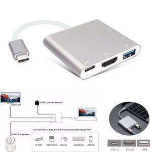 Para Macbook Tipo C 4k Hdmi Usb3.0 Hub Adaptador Convertidor