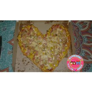 Pizza Corazon @expresionesdulceamor16