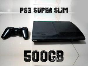 Play Station 3 Ps3 Super Slim 500gb 1 Control Medellin
