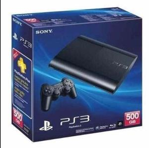 Playstation 3 Super Slim 500gb+2 Controles +fifa Juegos