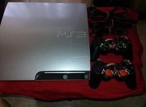 Ps3 Slim 160gb 2 Controles 4 Juegos Fisicos