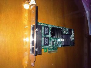 Tarjeta De Red Servidor 4 Puertos Giga Intel Servidor Hp