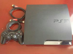Vendo Ps3 Slim 160gb Con 1 Control 7 Juegos