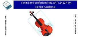 Violin Semi-profesional Mc Art Lp 4/4