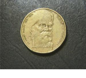 vendo moneda Australia:  Sir Henry Parkes
