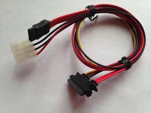 Cable Sataiii Sata De Poder Y Datos 2 En 1 Alto Rendimiento