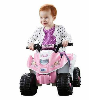 Carro Eléctrico Juguete Niña Power Wheels Minnie Mouse Lil