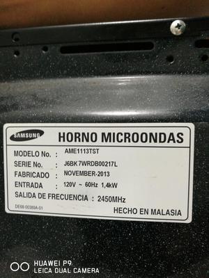Horno Microndas Marca Samsung