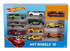 Hot Wheels Carros Paquete X 10 (colores Pueden Variar)