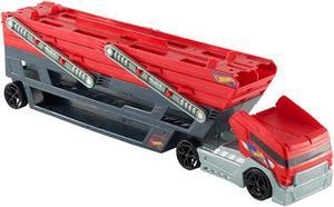 Hot Wheels Mega Hauler Camion Mega Transportador De Carros