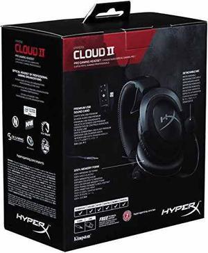 Auricular De Juego Hyperx Cloud Ii Para Pc