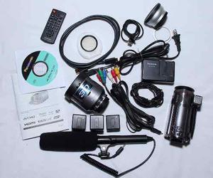 Camara Full Hd 3d Combo Kit