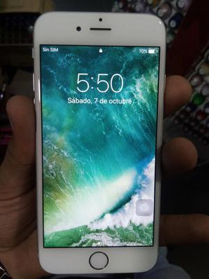 iPhone 6 Silver 16gb Excelente Estado