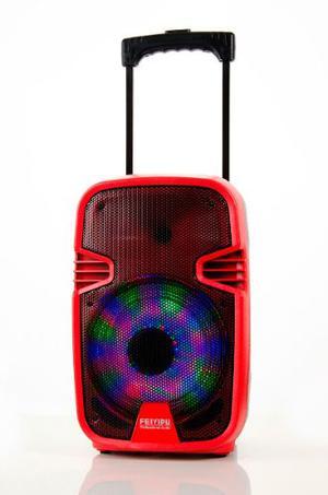 Bafle Parlante De Musica Sd Usb Bluetooth Portatil Karaoke