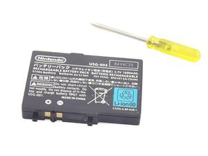 Bateria Pila Nintendo Ds Lite Recargabe +kit De Herramienta