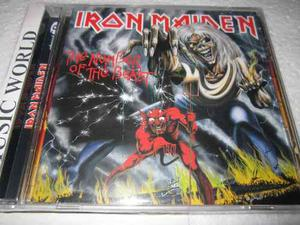 Iron Maiden The Number Of The Beast -cd - Nuevo Sellado-