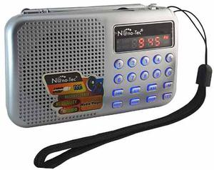 Radio Digital Am Fm Usb Microsd Recargable + ¡ Regalo !