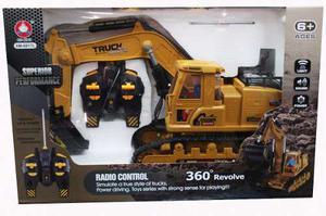 Truck Radio Control Retroexcavador 360 Construcion Xm-l