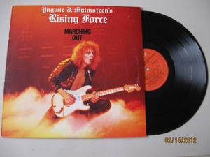 Yngwie J.malmsteen`s Marching Out -lp Press U.s.a